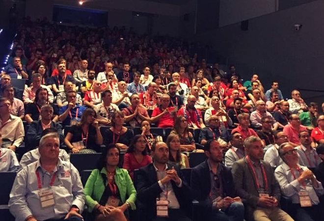 II Asamblea de la Unión Internacional de Peñas del Atlético de...