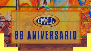 Espectacular cartelera para el aniversario 86 del CMLL.