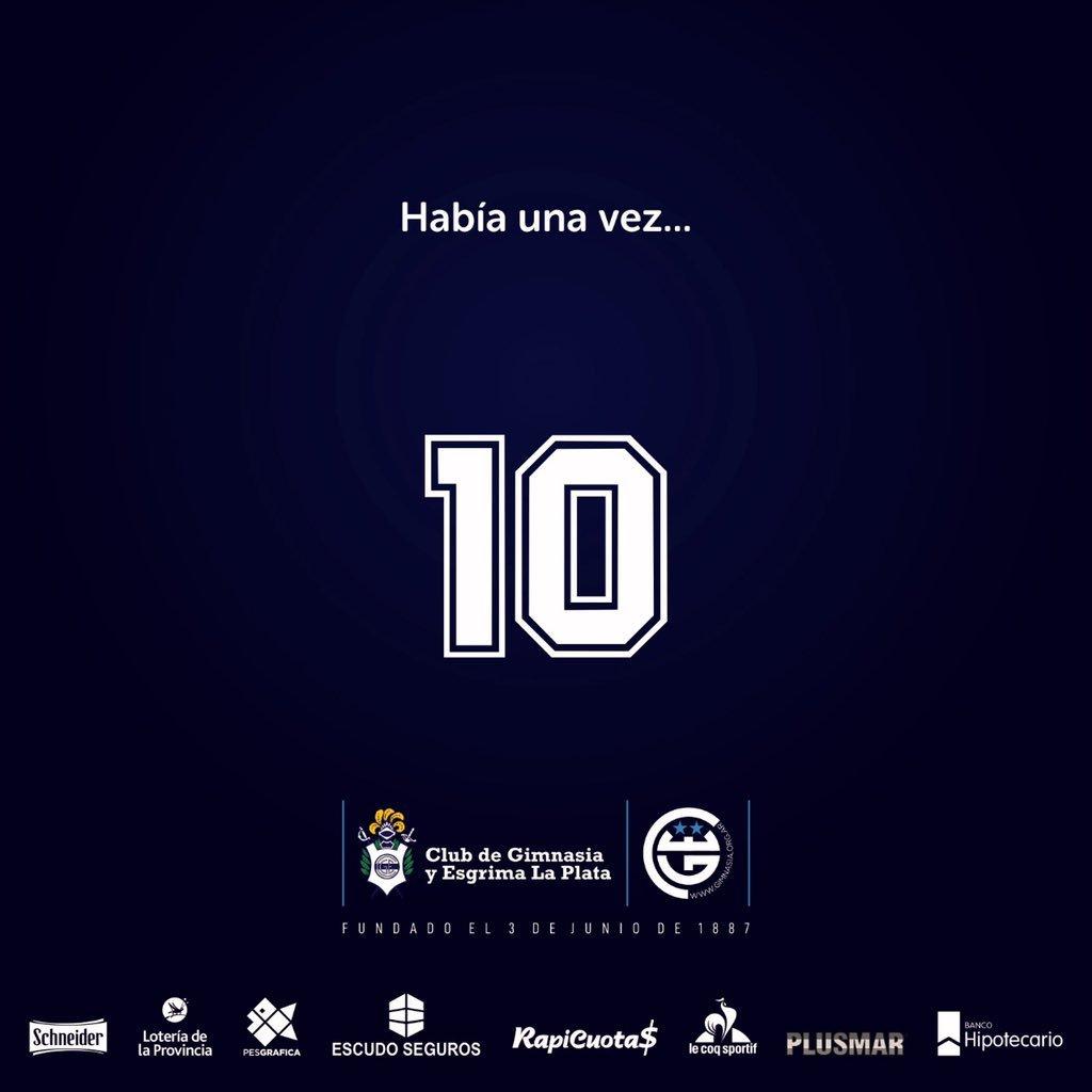 Así anunció Gimnasia el fichaje de Maradona como su nuevo entrenador