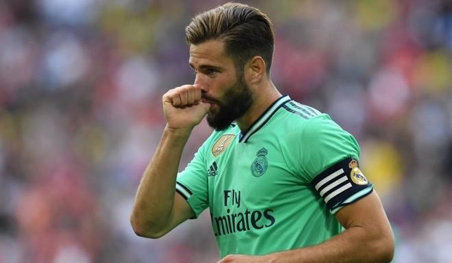 Nacho, celebrando un gol ante el Fenerbahce