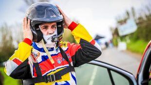 El pupilo del Rally Team Spain, a principio de temporada, en Azores.