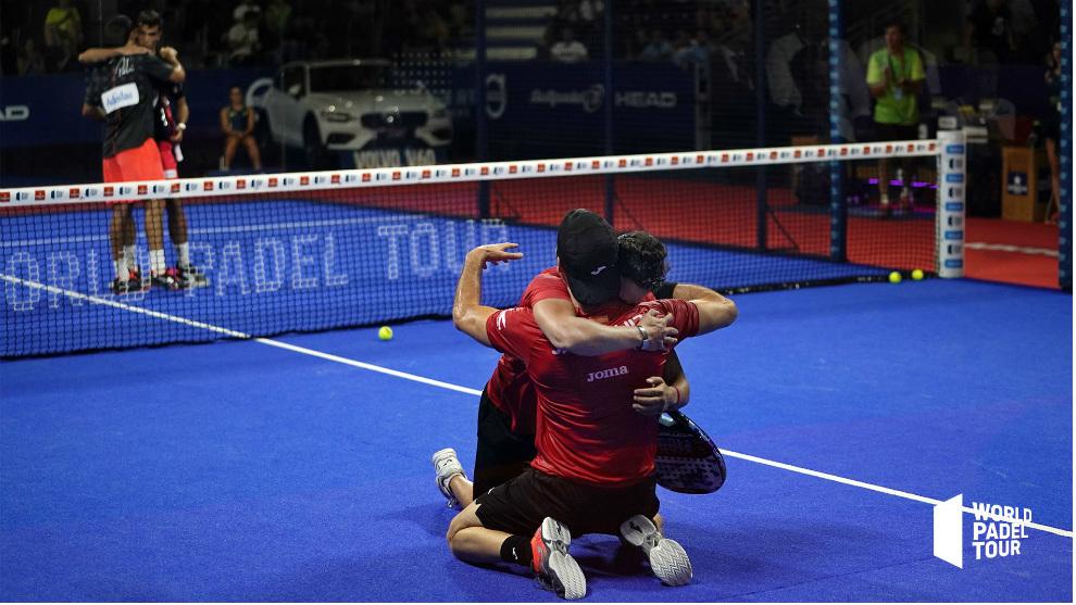 Botello y Ruiz celebran su triunfo