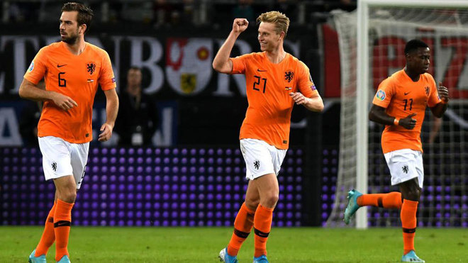 De Jong inspires Netherlands to thrilling win over Germany