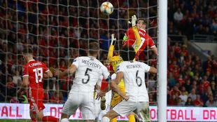 Bale marca su gol.