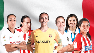 Seis futbolistas buscarán la gloria
