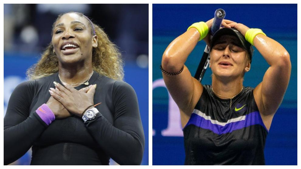 Serena Williams - Bianca Andreescu: horario y dónde ver hoy por TV la...