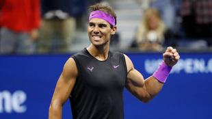 Rafa Nadal, en el US Open 2019.