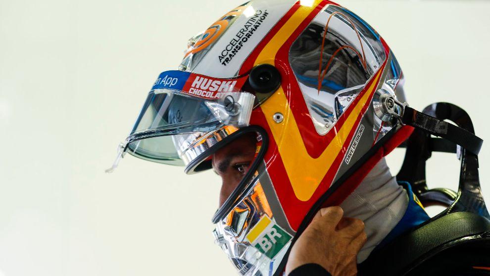 Carlos Sainz, en Monza.