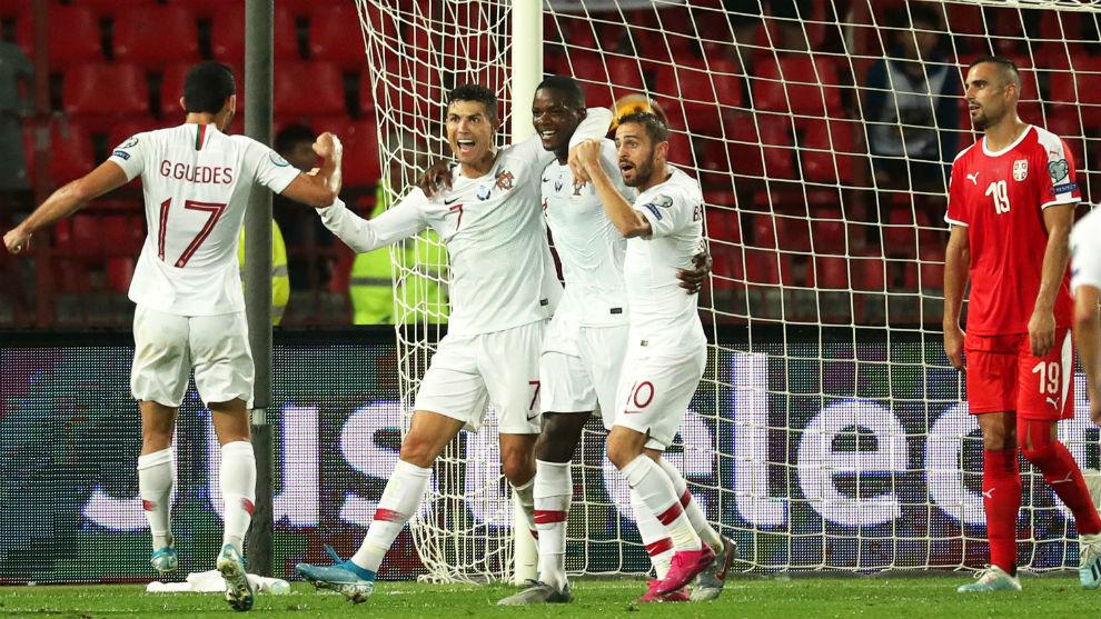 Serbia vs Portugal: Cristiano Ronaldo helps Portugal see off Serbia -  Clasificación Eurocopa