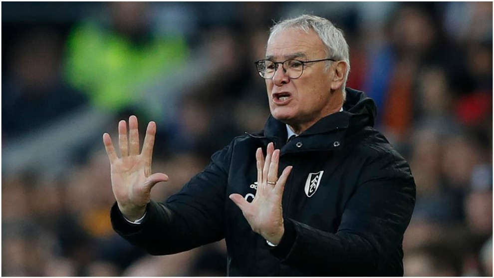 Claudio Ranieri, durante su etapa como jugdor del Fulham.