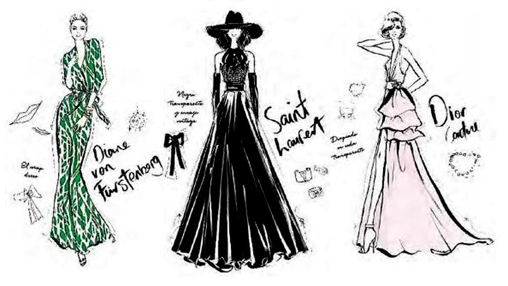 'Historia de la moda en 100 vestidos', un paseo por la historia de la...