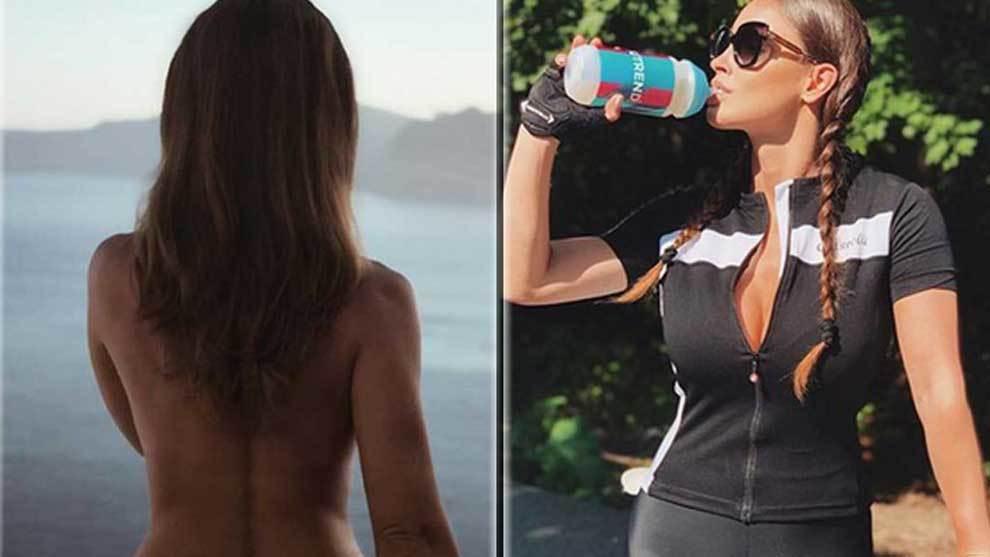 Lucia Javorcekova, de ciclista a sumar 1,2 millones de seguidores con sus desnudos en Instagram