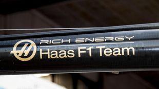 El lodo ge Rich Energy y Haas F1.