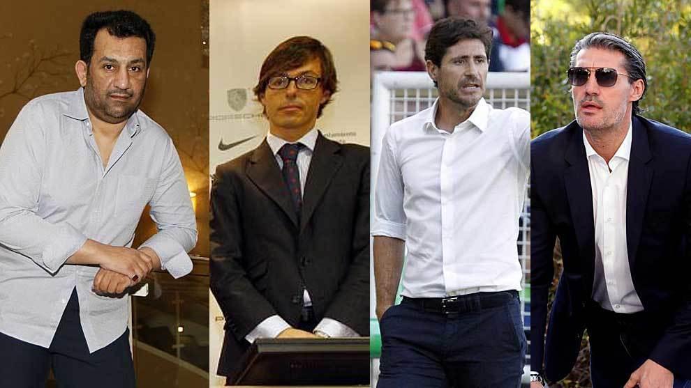 Al-Thani, Joaquín Jofre,  Víctor Sánchez del Amo y José Luis...