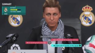 Las nuevas ruedas de prensa del modo Carrera de FIFA 20 serán más...
