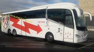 El nuevo autobús del Rayo