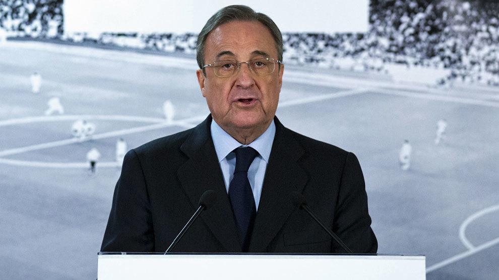 """Florentino, a los socios: """"El éxito nos ha hecho perder intensidad y hay que recuperarla"""""""
