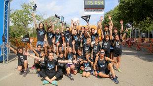 Los chicos de la Escuela de Running 3FdC Valencia