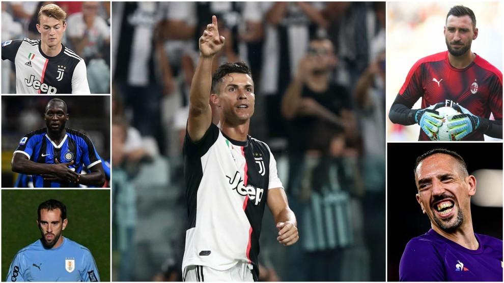 Cristiano Ronaldo cobra más que De Ligt, Lukaku, Godín, Donnarumma y Ribéry juntos