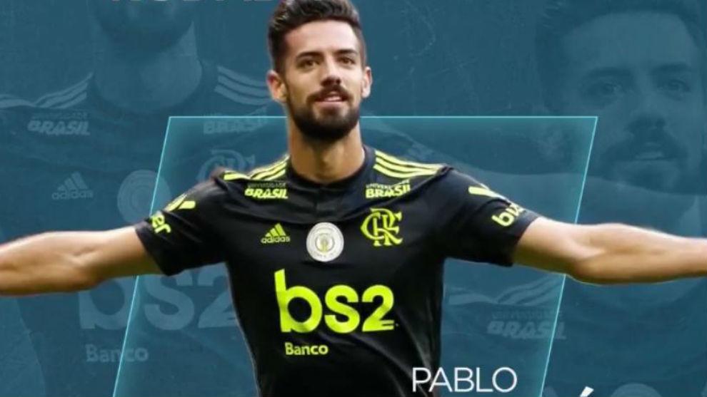El anuncio del Brasileirao de Pablo Marí como mejor de la jornada.