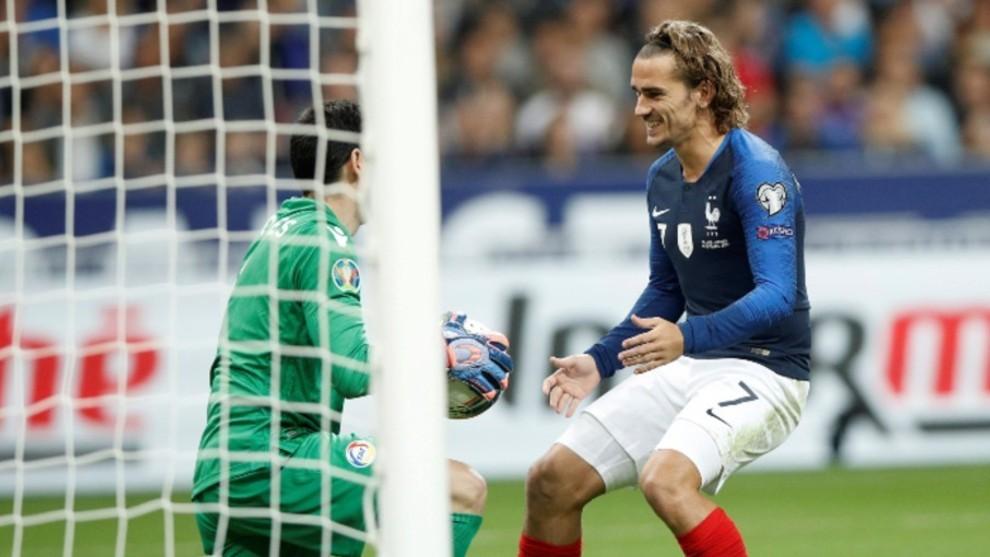 Griezmann tras fallar el penalti