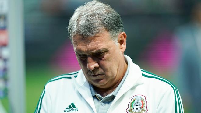 Gerardo Martino, entrenador de la selección mexicana.