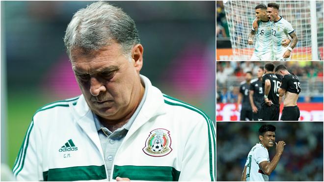 15 años sin que México derrote a Argentina en selecciones mayores.