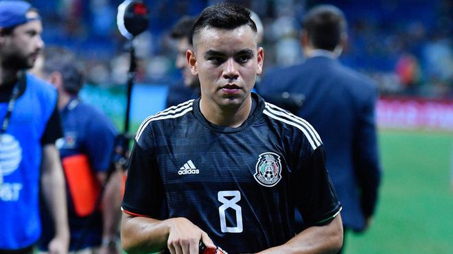 Carlos Rodríguez, jugador de la selección mexicana.