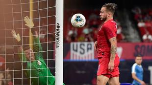 Estados Unidos empató ante Uruguay.