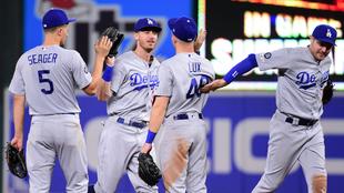 Los Dodgers vencieron a los Orioles.