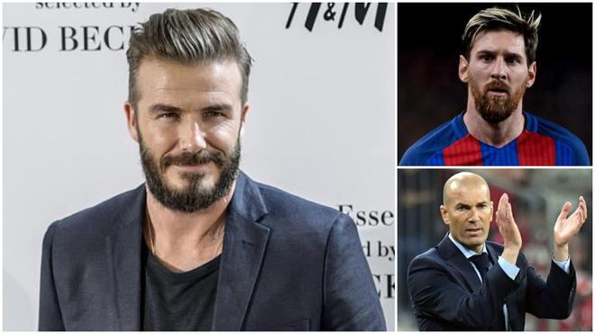 Zidane y Messi son el objetivo de David Beckham para el Inter de...