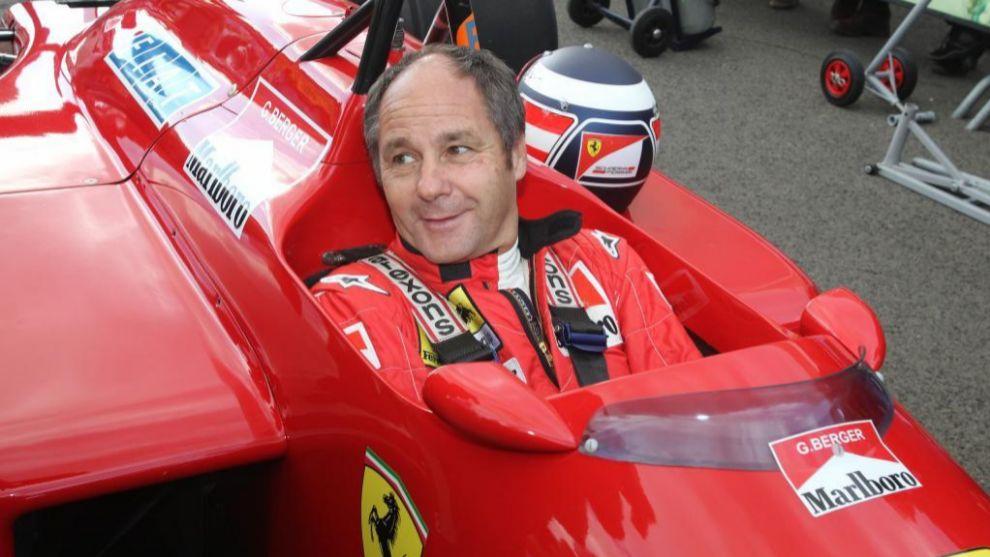 Gerhard Berger, en Austria 2015.