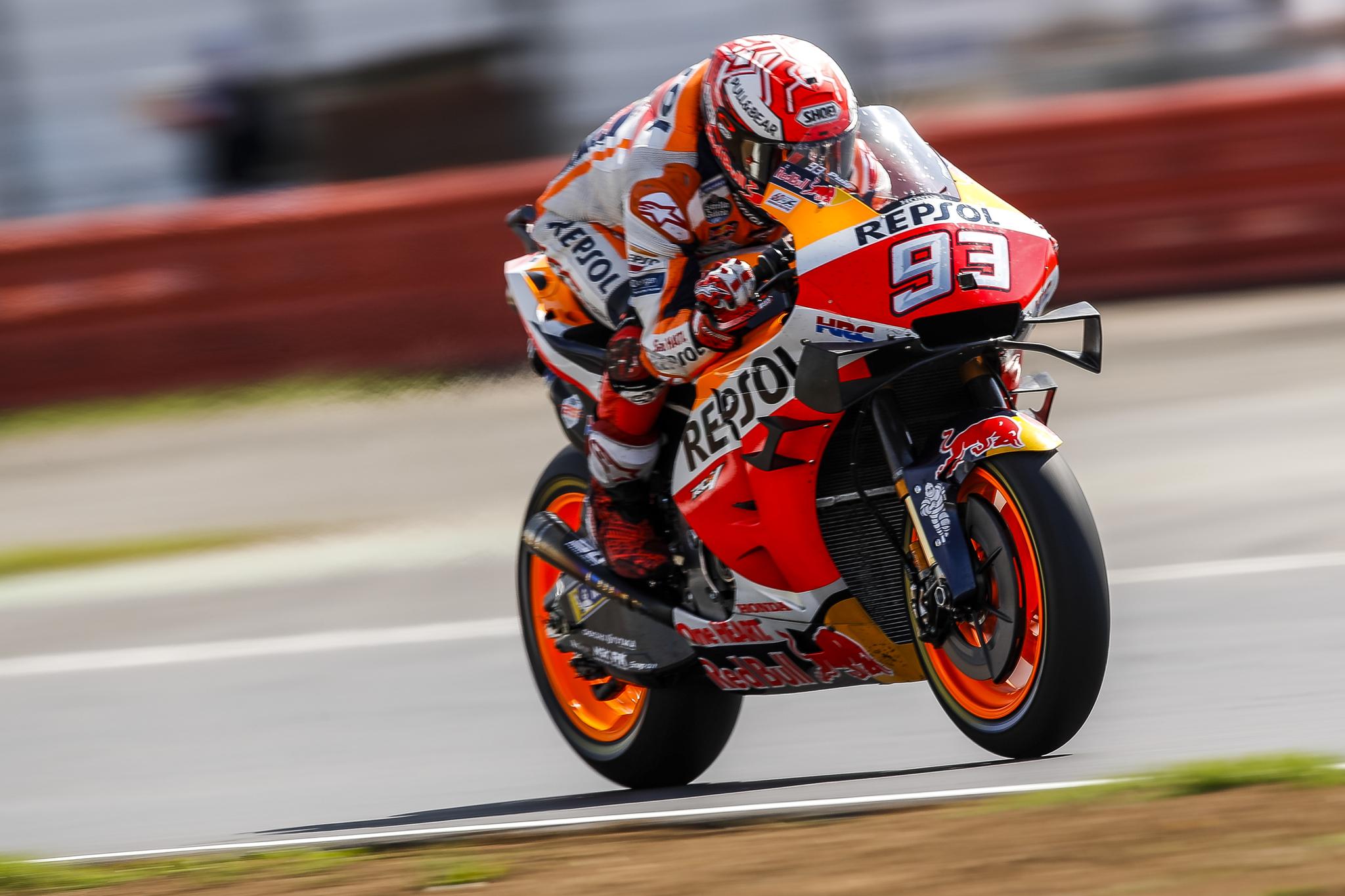 <HIT>Marc</HIT><HIT>Márquez</HIT> en el Gran Premio de Gran Bretaña de MotoGP Firma: Repsol Honda