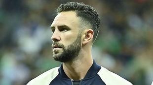 Miguel Layún durante el juego contra Argentina