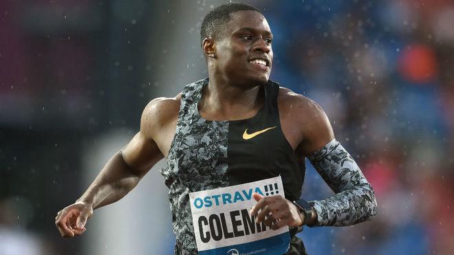 Coleman, en carrera.
