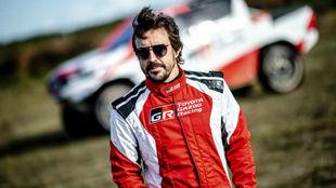 Alonso, en su reciente test en Polonia los días 2 y 3 de septiembre.