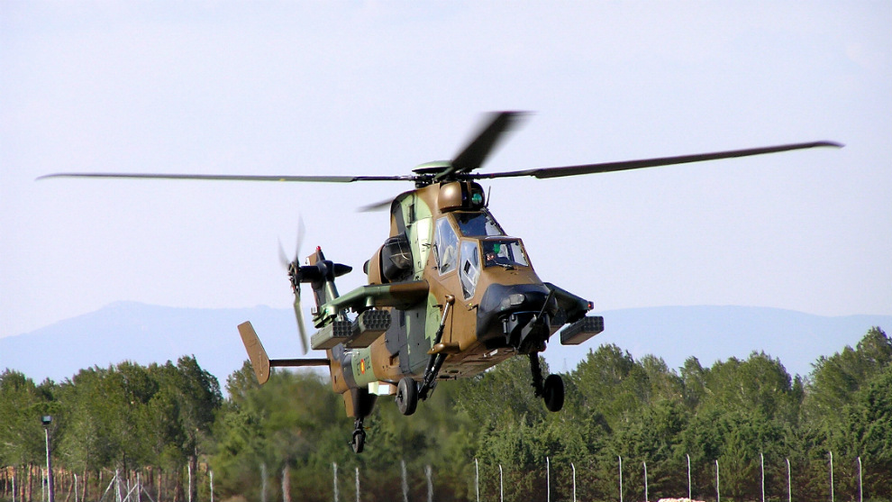 Helicóptero de ataque Tigre