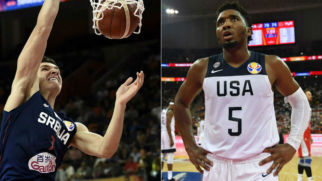 Estados Unidos pierde de Serbia en Mundial de baloncesto