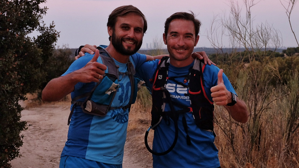 Tito Belascoain y Guillermo Quintanilla.