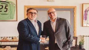 Acuerdo entre el Real Valladolid y la empresa de catering Aramark