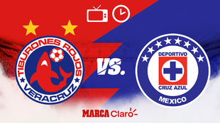 Veracruz vs Cruz Azul: Horario y dónde ver