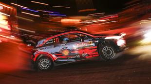 Doblete inicial en la súperespecial para los i20 Coupé WRC.