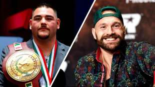 Andy Ruiz Jr. y Tyson Fury