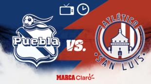Puebla vs Atlético de San Luis: Horario y dónde ver