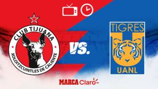 Tijuana vs Tigres: Horario y dónde ver.