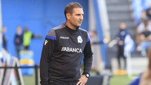 Manu Sánchez, técnico del Deportivo femenino.