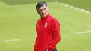 José Luis Mendilibar, técnico del Eibar.
