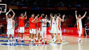 España celebra el triunfo