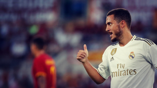Eden Hazard apunta a titular en el partido del Real Madrid ante el...