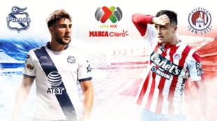 Puebla vs San Luis, en vivo minuto a minuto.